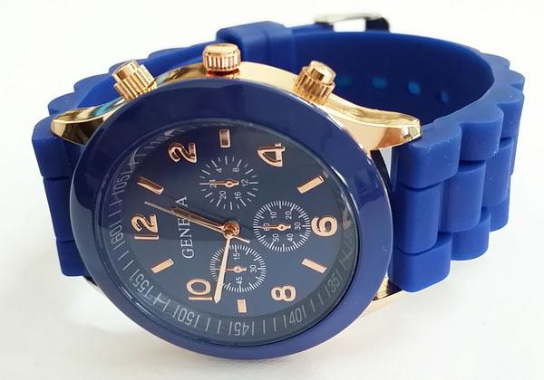 Часы женские Geneva синие.